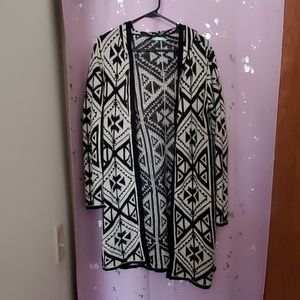 Maurice's Hooded open Cardigan